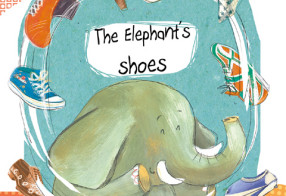 Le scarpe di Noah l'elefante