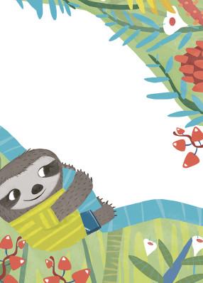 Senza fretta con il piccolo bradipo_edizioni Whitestar